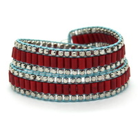 2014 Red Bracelets For Women, Charm Bracelet ,2 Layer Can Adjust  Size,Free Shipping,3pcs/lot