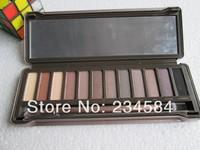 2014 new Professional nk 2 make up Eye Shadow Hot Selling nk2 12 Colors nake Eyeshadow Palette Makeup Set cosmetic gift