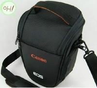 Special wholesale triangle bag 60D 650D 600D 550D SLR camera bag 2PCS/LOTS
