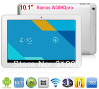 "10.1"" IPS Ramos W30HDpro 32GB Quad Core Android 4.1 Rockchip RK3188 Cortex A9 1.8GHz HDMI BT 5MP 1920X1200 WiFi Tablet PC"