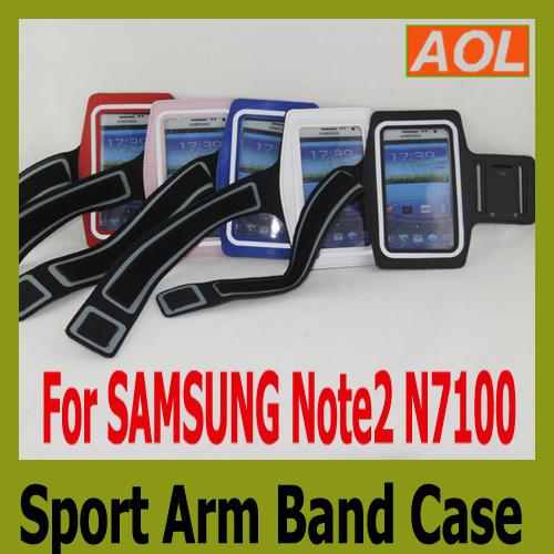 Ремень с карманом под телефон на руку Samsung 2 Note2 II N7100 Note 2/N7100 ремень с карманом под телефон на руку uuew3424 samsung s4 i9500 552f