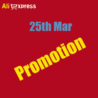 25th Mar Big Promotion!!  Coupon+Surprise in every hour on 3.25th