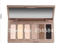 Hot sales 30pcs/lot 2013 new makeup Set Nake Basics eyeshadow palette 6color palettes eye shadow free EMS shipping