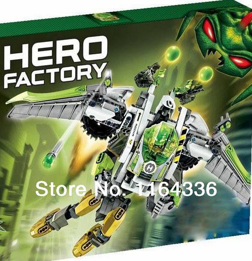 1 PCS Jet Rocka STAR SOLDIER Hero Factory 5.0 building blocks kids robot toys Free shipping(China (Mainland))