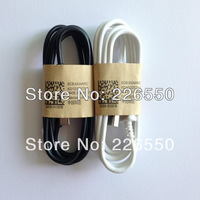 1000PCS/LOT High Quality 1m Mini Micro USB Data Sync Charger Cable For Samsung Galaxy Note 2 s3 s4 With Black and white