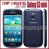"Original Samsung Galaxy S3 mini i8190 GPS Wi-Fi 5.0MP 4.0""TouchScreen 8GB Unlocked Refurbished Phone"
