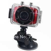 "1080P 30FPS Water-proof HD DVR Recorder Sport DV with 2.0"" LCD + 120 Degree Wide Angle+9712 Lens Sport Car DV20,Free Shipping!"