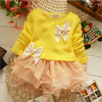 Promotion! 1 Set Retail,New 2014 spring baby dress. Baby 100% cotton dress. Baby girls dress. Baby clothes. Free shipping!