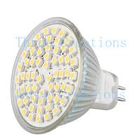 30pcs MR16 GU5.3 60 SMD LED Warm White Spot Down Light Bulb Lamp 4W 300lm 12V LED0026