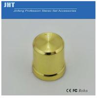 Gold plating potentiometer knob,potentiometer knob for speaker,high quality potentiometer knob