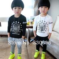 Children's clothing imsweet2014 all-match child long-sleeve T-shirt male female child basic shirt