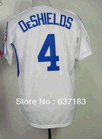 2014 Cheap Mens Montreal #4 Delino Deshields 1982 Retro White Baseball Game Sports Jersey.Stitched Numbers
