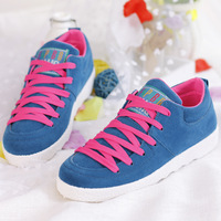 2014 spring low canvas shoes female shoes women sneakers the trend of casual shoes flat single shoes
