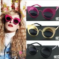 Personalized fashion cat-eye van sun glasses star style sunglasses