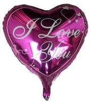 50pcs/lot 18inch Peach Heart Foil Balloons Wedding Decoration Balloon Valentine's Day Party Helium Balloon