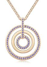 Women s Vintage Necklace Fashionable Pendant Stylish Retro Long Sweater Chain Austrian Crystal Jewelry 10397