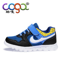 2014  Boys shoes female child sport shoes autumn and winter casual shoes teenage small shoes