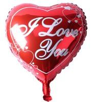 50pcs/lot High Quality 18inch Peach Heart Foil Balloons Wedding Decoration Balloon Party Helium Balloon