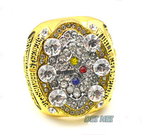NFL 2008 Pittsburgh Steelers Super Bowl championship rings