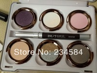 20pc Free EMS NK The Glinda and The Theodora Palette 6 Color Eyeshadow With Eyeiner and Lipstick Pencil Eyeshadow Palette Makeup