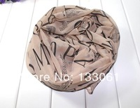 Factory Wholesale dlirectly 168cm * 65cm new silk scarves wholesale fashion soft chiffon and grow up 60 pcs/lot SC008