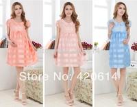 Summer 2014 New Hot Dress, Women's Clothing Dresses For Pregnant Women, Pink Maternidade Novelty Dresses, Roupas De Gravida80007