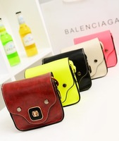 Mini Women Bag Summer Vintage Leather Handbags Shoulder Small Bags 2014 Mobile Phone Messenger bag