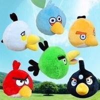 promotion!!! 3pc/lot carton plush animal pig adult child gift game plush toy 20cm wholesale free shipping