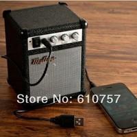 Paladone My AMP Portable Retro Speaker MP3 Cellphone Computer Mini Speaker with USB line,1 pcs/lot Free shipping