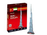 2014 children's toy puzzles Burj Khalifa tower 3D DIY Three-dimensional puzzles c151