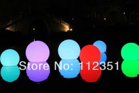 Waterproof swimming pool LED light ball   20CM diameter  rechargeable and remote control