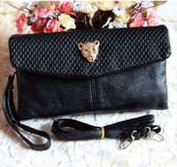 2014 new handbag ladies double double zipper pocket with multi-bag evening bag purse shoulder bag hand