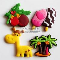 Refrigerator stickers magnet soft ice cream onta z8