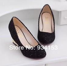 black lace heels price