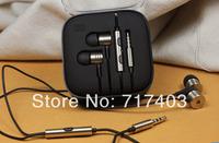 Top Quality 100% New XIAOMI Piston Earphone Headphone Headset White,Gold with Mic for MI2 MI2S MI2A Mi1S Phones Free Shipping