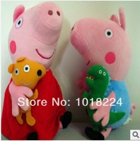 NEW Arrival baby toys Small Size 19cm Peppa Pig or George Pig Plush Toy Toddler Doll Retail And Wholesale Toy gift for children