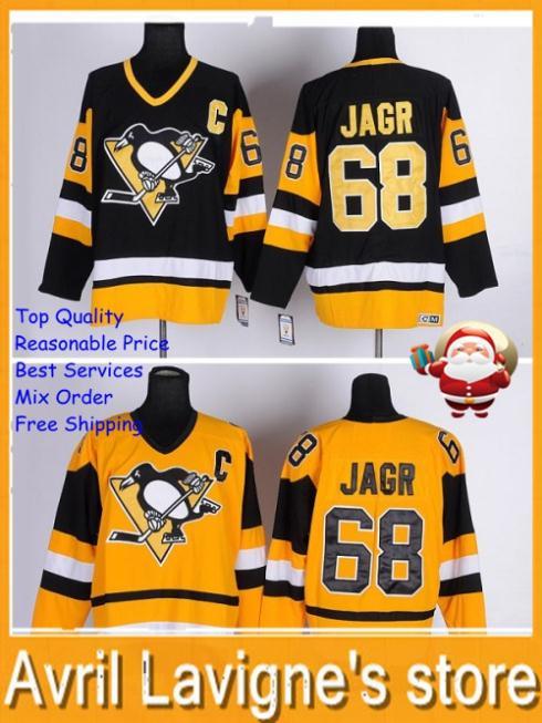 #68 Pittsburgh Penguins #68 Jaromir Jagr лонгслив printio pittsburgh penguins