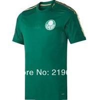 14 new  season Palmeiras home  thai  top quality  3a+ embroidery LOGO  soccer jerseys free shipping shirts