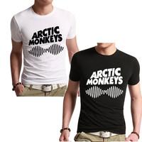 Arctic Monkeys Sound Wave Men T Shirt Tee Top Indie Rock And Roll Band Concert - Album High, 100% cotton dress Tshirt