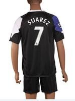 free shipping 2013-2014 #7 suarez home Thailand Quality Soccer Jersey A+++ Spain Thailand quality Jersey