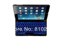 Super Thin Wireless Lighting Bluetooth 3.0 Keyboard for ipad air -Black/White