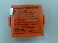 LTB2 Replacement battery for MCMURDO R1/SIMRAD AXIS 30 VHF two-way radiotelephones replacement