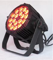 Free shipping RGBW/RGBA 18*10 Super bright LED Par Light, Quad LED Par Can,DJ Par Light,Disco Lighting