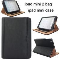 New 2014 Fashion For Apple for New iPad mini Case Protective case for ipad mini 2.PU Leather Cover Case for New iPad mini