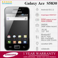 "samsung s5830 Original Galaxy Ace S5830 Unlocked Phone  Android OS 3.5"" 512MB Wifi GPS 3G 5MP Camera Refurbished Free Shipping"