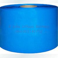 PVC Heat Shrinkable tubing used for battery insulation Diameter 101mm Fold Diameter  160mm W160D101 Heat Shrinkable Sleeve