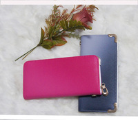 2014 new arrival fashion gradual transition color fashion women's long wallet women's long purse