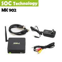 Free Shipping New Original RKM MK902 TV Box Quad Core Android 4.2 RK3188 2G DDR3 16G ROM Bluetooth Build in Camera & Microphone