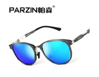 Aluminium Magnesium Alloy  Frames Men's Polarized Sunglasses Driving Summer Sunglass  4 Colors UV400 8018-3 Free Shipping