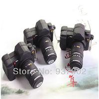 100% real capacity Free shipping  black plastic camera model usb flash drive USB Pen Drive Disk Flash Memory Stick S14  AA